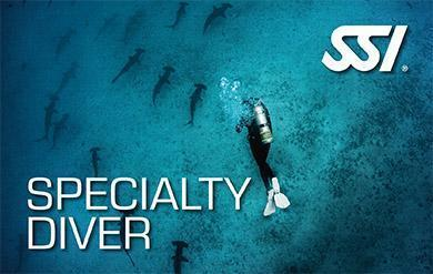 SSI Speciality Diver (2 Specialties Bundle) / 93700669
